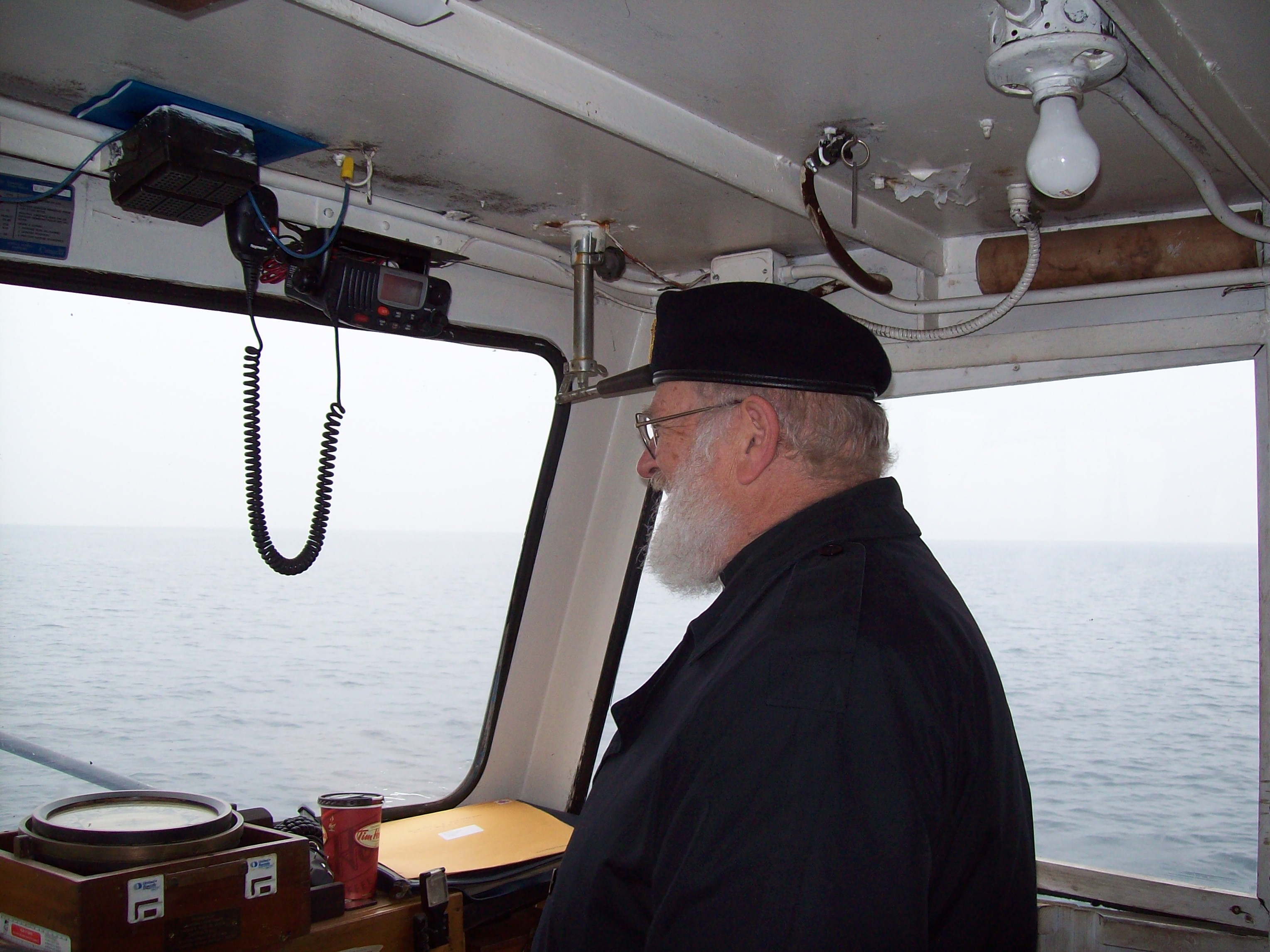 And the Padre at the Helm!