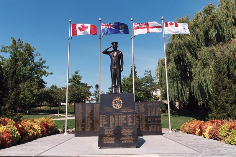 Royal Canadian Naval Ships Memorial Spencer Smith Park, Burlington