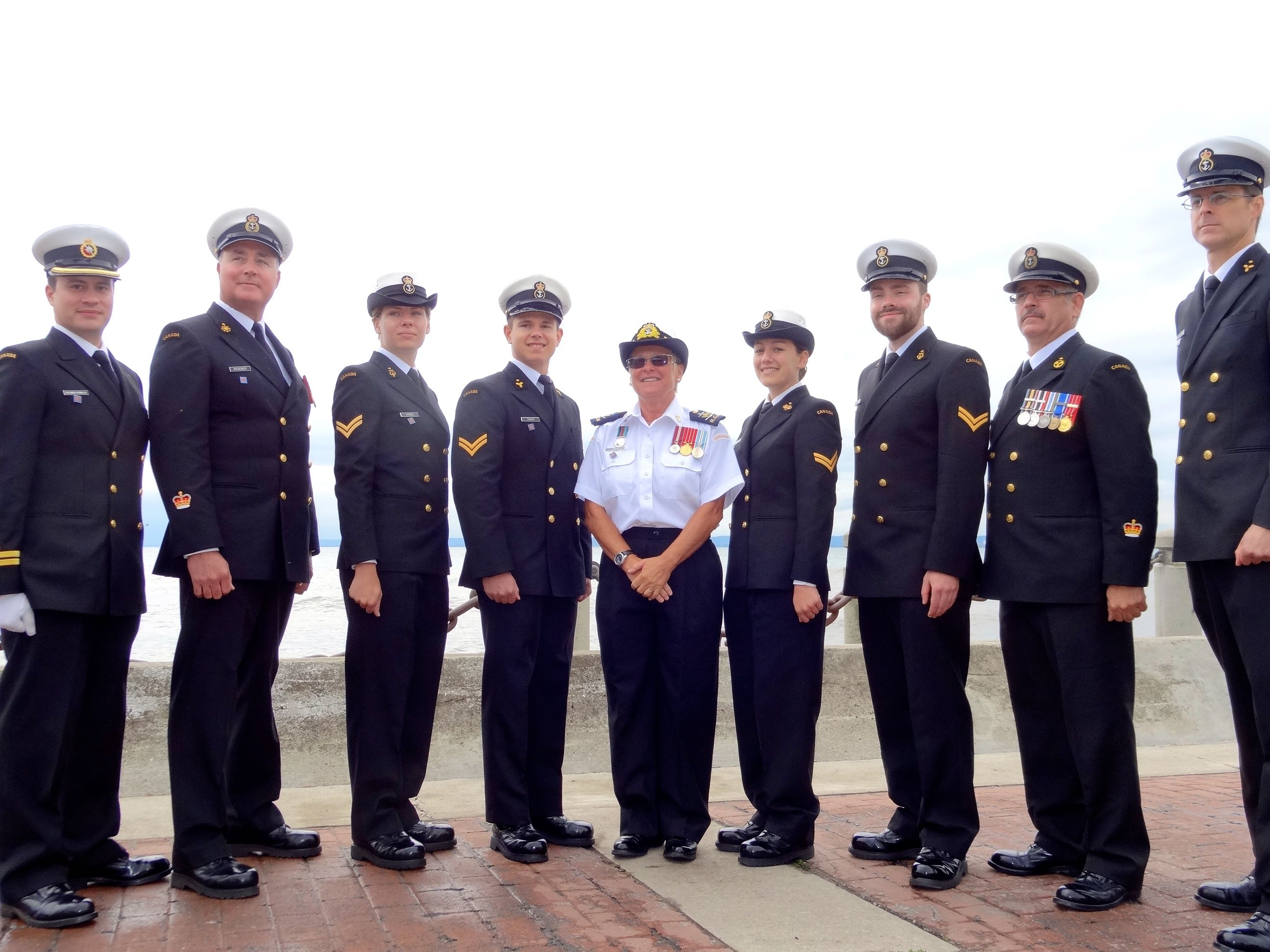 Canadian Navy Representatives
