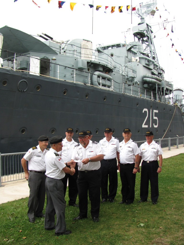 BONV's also volunteer at HMCS Haida